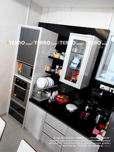 Jasa Desain Interior Kitchen Set Bandung