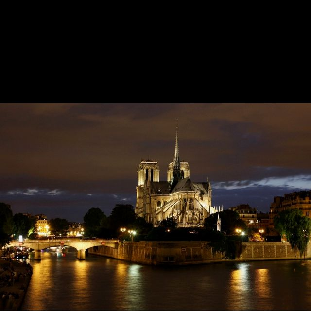 Notre Dame Cathedral on the Seine <3