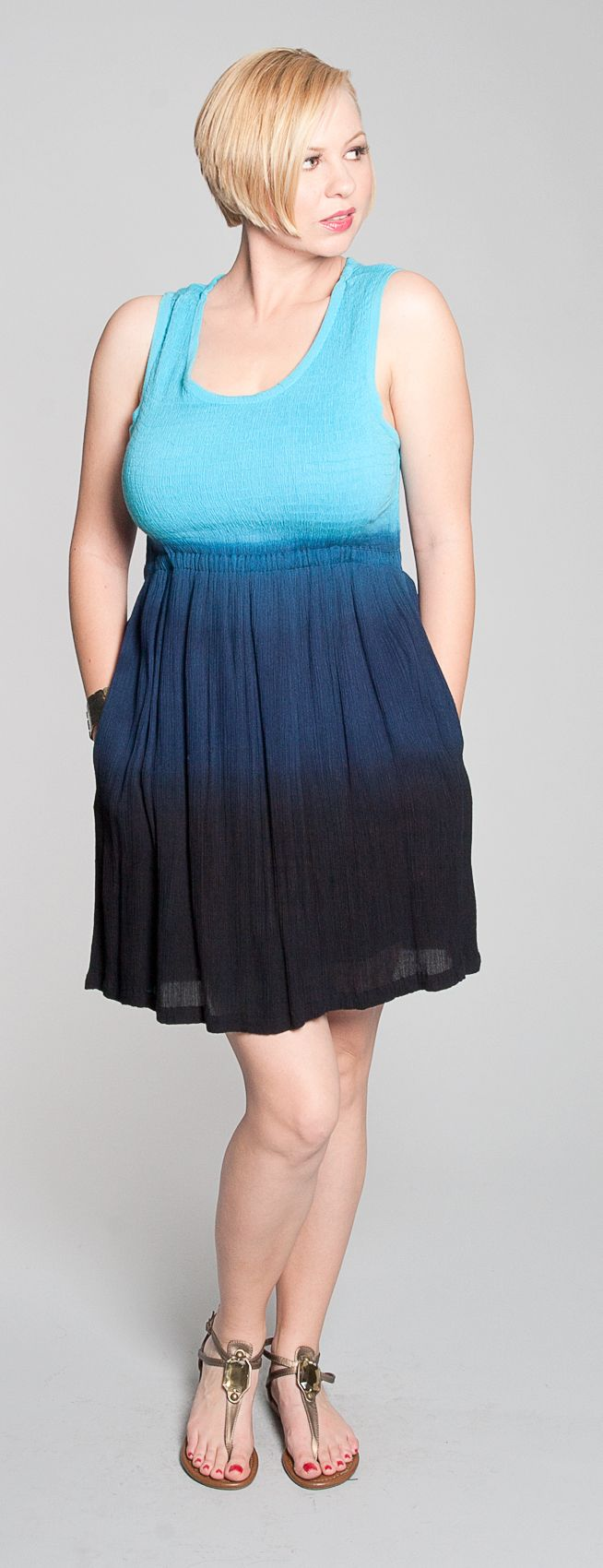 Blue ombre dress by 525 America. $26 (My awesome friend Mary again!)