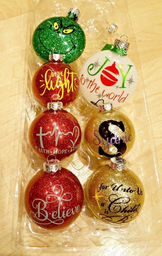 Learn How to Make Personalized DIY Glitter Ornaments Diy