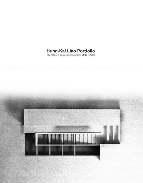 architecture portfolio cover by kai   l  via flickr  i