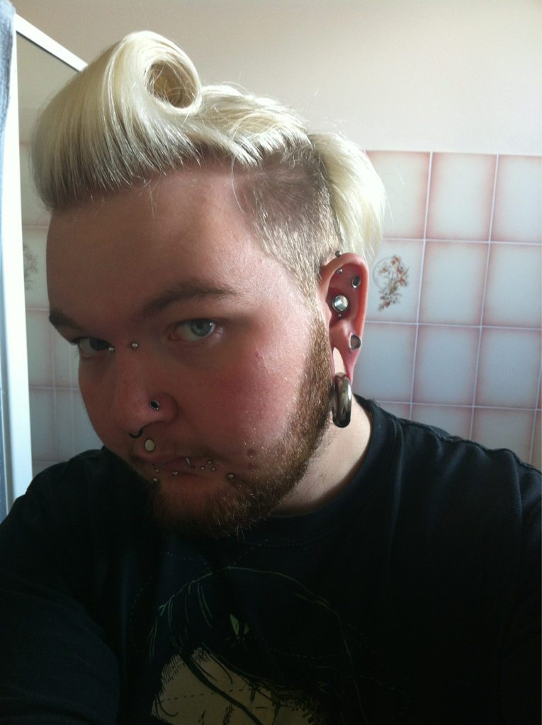 I Love The Stretched Lobes And Large Gauge Conch Piercing