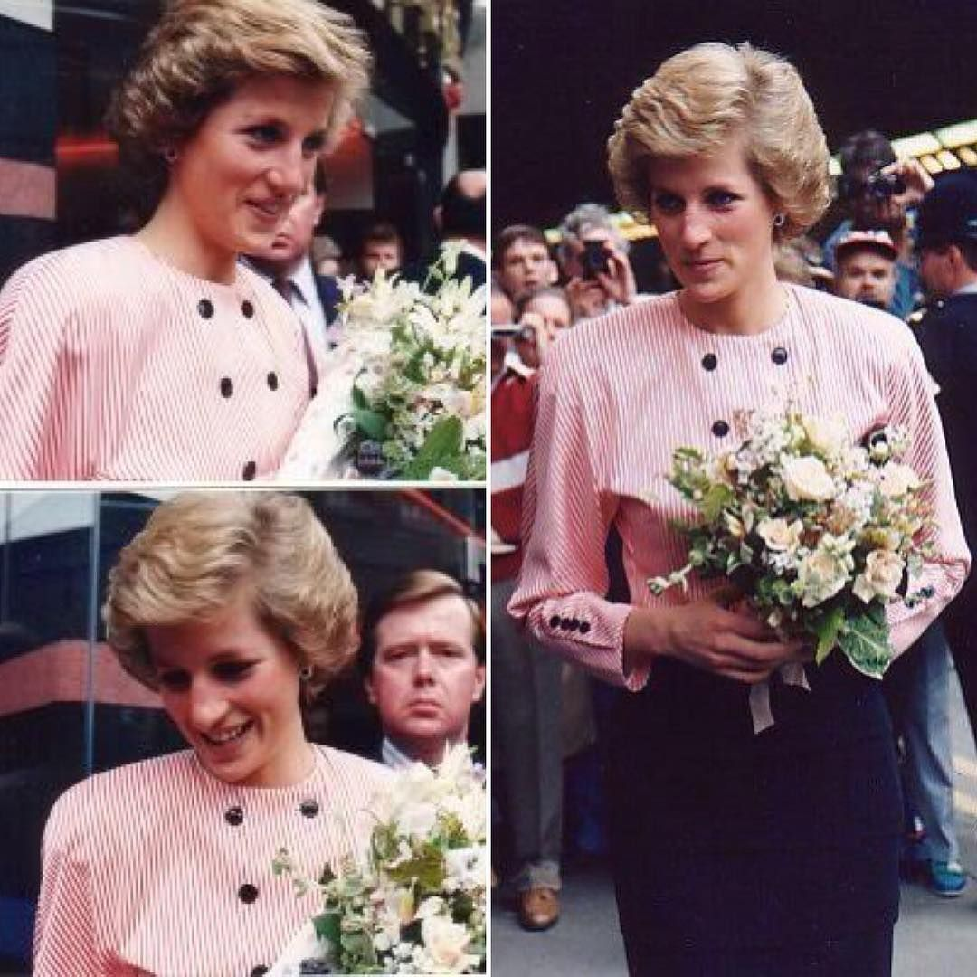 Lady Diana Hochzeit August 2 1988 Princess Diana Opens The Barbican Health