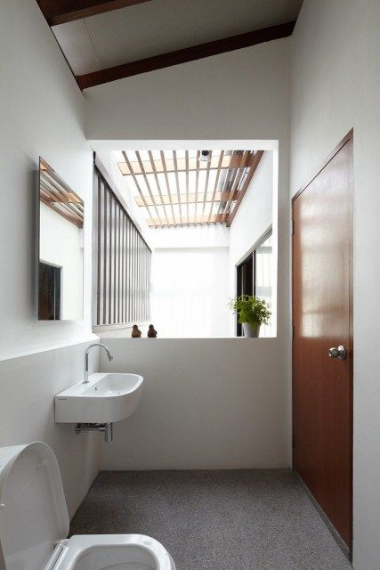 Malaysian Single Storey Terrace Simple Toilet Design Bathroom