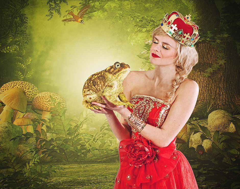 The prinsess and the frog