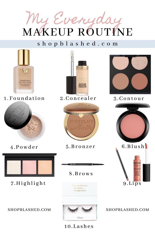 Everyday Makeup Tutorial Updated in 2020 Everyday makeup