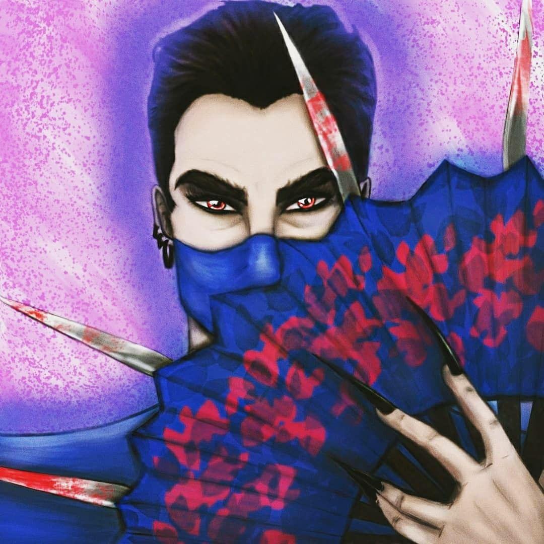 art by artist Orlando H. SUlz henrisulz em 2020