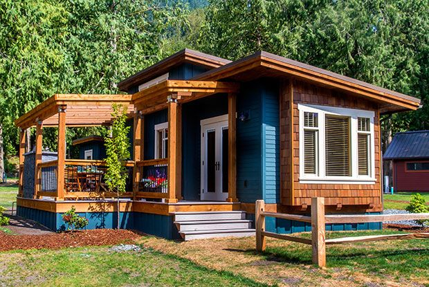 Residential Park Models Tiny Homes West Coast Homes Tiny House Cabin Tiny House Tiny House Movement
