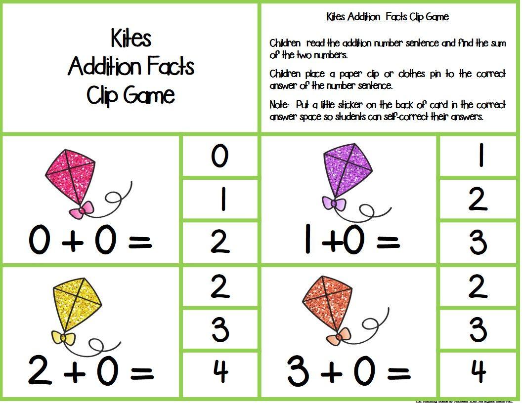 Kites Math Centers