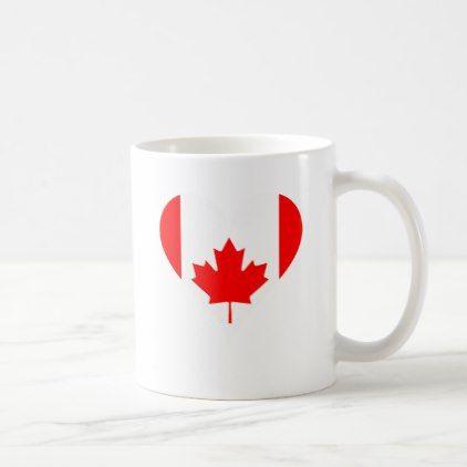 I Love Canada Coffee Mug Travel Office Gifts