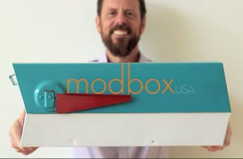 Midcentury Modern Mailbox Reproduction Modbox Usa Now Available Modern Mailbox Mid Century Modern Mailbox Retro Mailbox