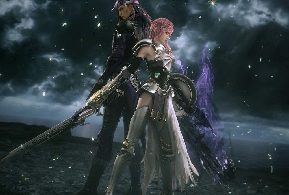Caius Vs Lightning Final Fantasy Wallpaper Hd Final Fantasy