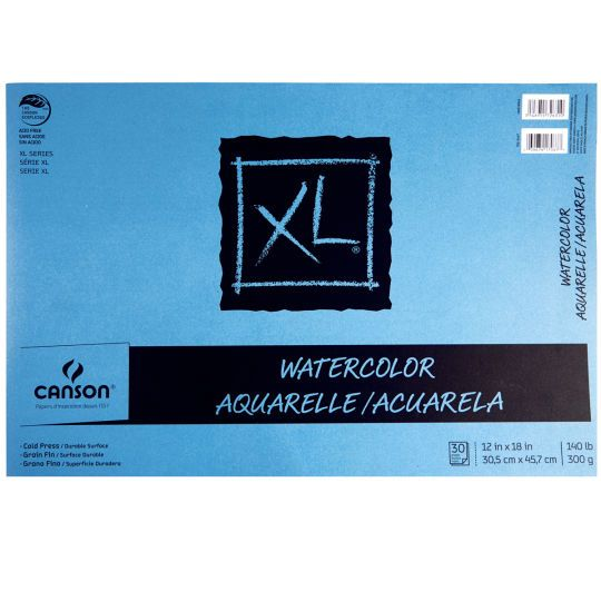 Canson Xl Watercolor Pad Les Arts Watercolor Watercolor