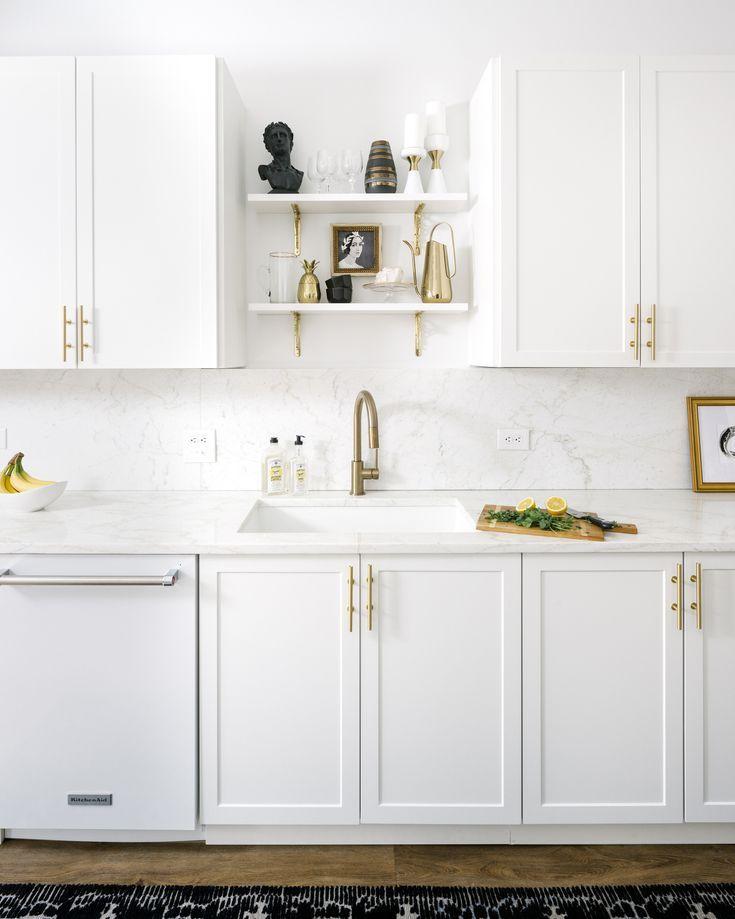 Makeover: An Interior Designer\'s Glam Black & White Abode