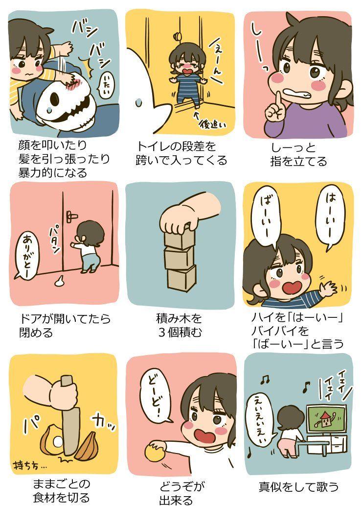 いずみえも Izumiemo さんの漫画 124作目 ツイコミ 仮 育児