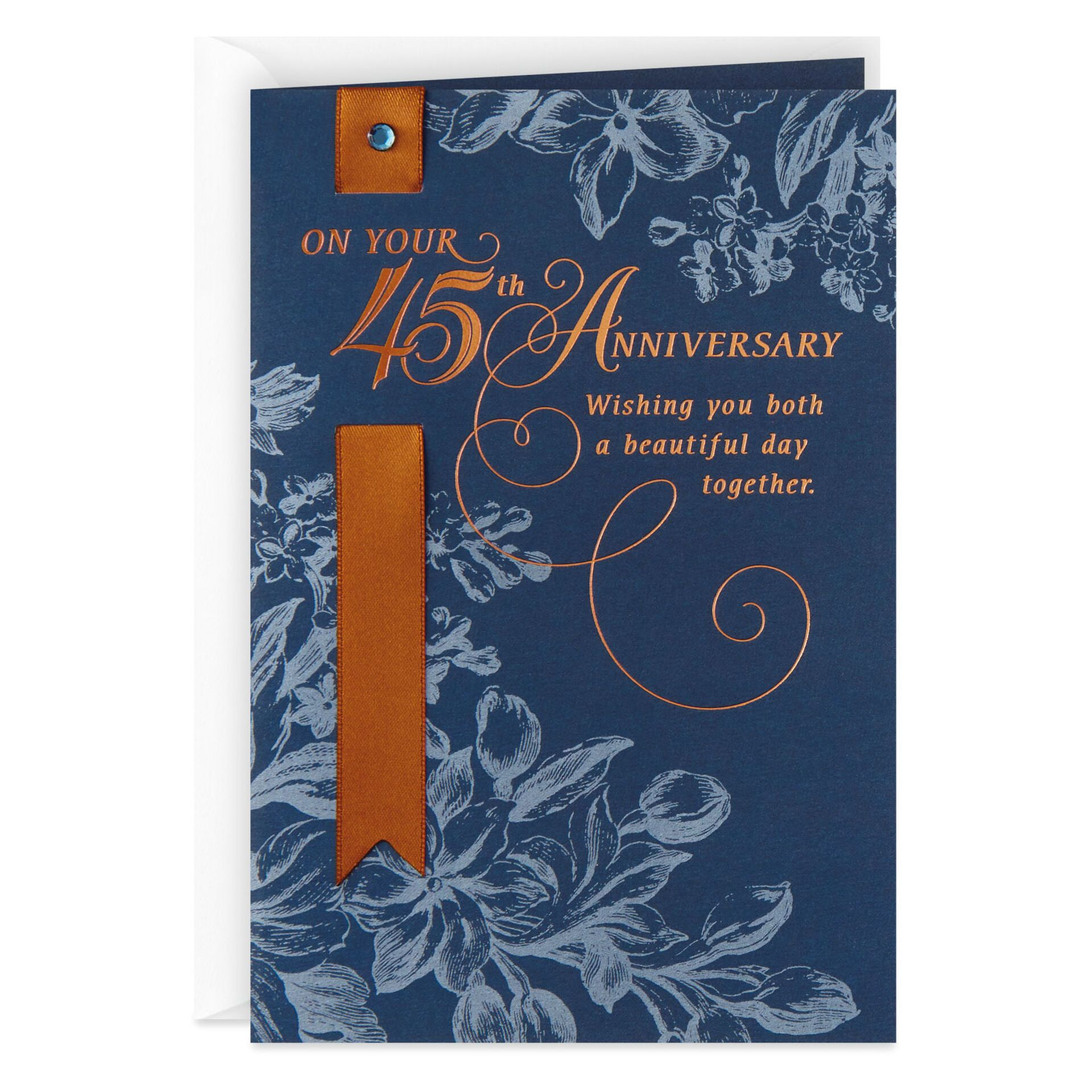 Enjoy Your Day 45th Anniversary Card Greeting Cards Hallmark Anniversary Cards Hallmark Greeting Cards 45th Anniversary