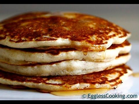 Want To Make Eggless Pancakes You Re In The Right Place Because This Is The Best Egg Free Light And Fl Eggless Recipes Eggless Pancake Recipe Eggless Pancake