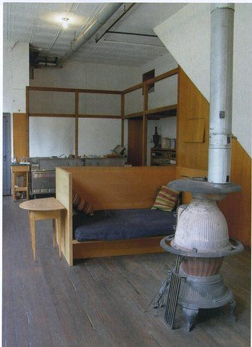 Donald Judd S Kitchen With Images Home Furniture House Interior