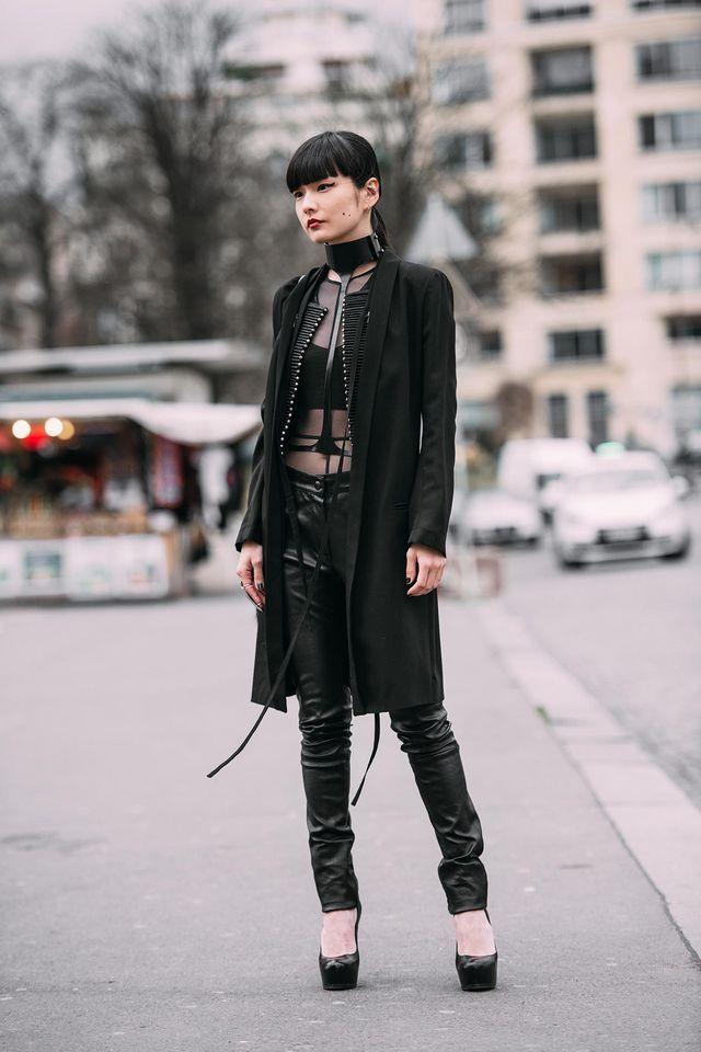 Kozue Akimoto Citizen Couture Street Street Styles And Gothic