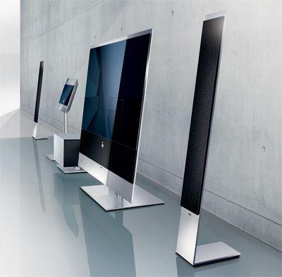 loewe 52 full hd flatscreen tv cool gadgets pinterest gadgets design and technology. Black Bedroom Furniture Sets. Home Design Ideas
