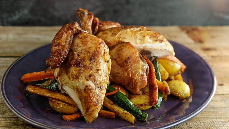 Baked Chicken Recipes Healthy Vegetables