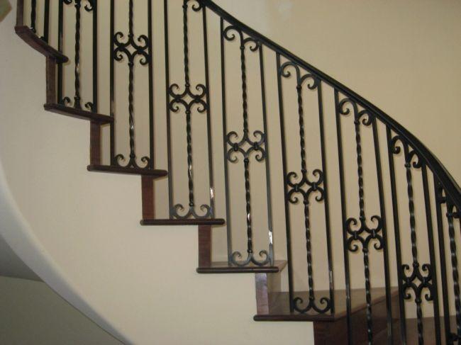 Best Stair Rail Antique Iron 90265 Spanish Wrought Iron 400 x 300