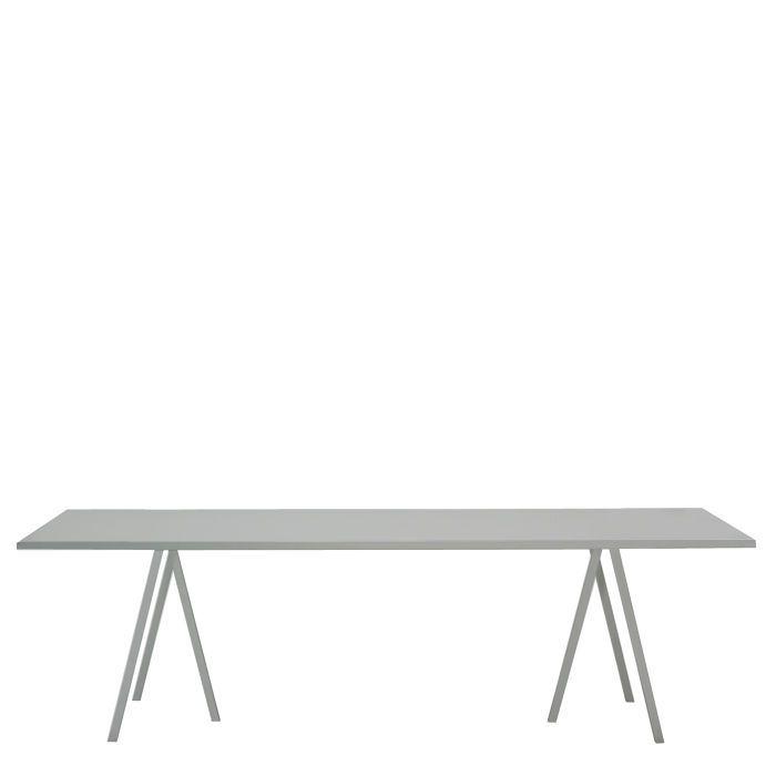 Super Robust Und Standfest Mit Tischböcken Aus Pulverbeschichtetem