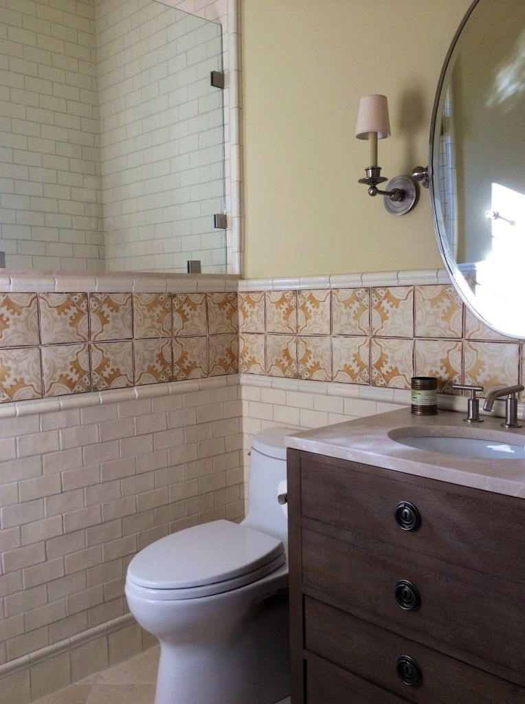 Nord 7 Wainscot By Tabarka Studio Another idea for tile layout on ...