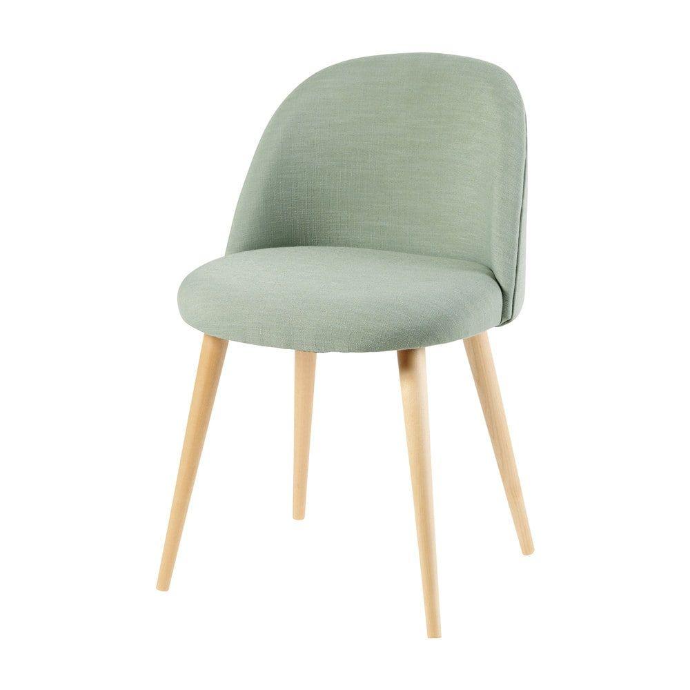 Erstaunlich Esszimmerstühle Grün Sammlung Von Vintage-stuhl Mit Massivbirke, Grün | Maisons Du