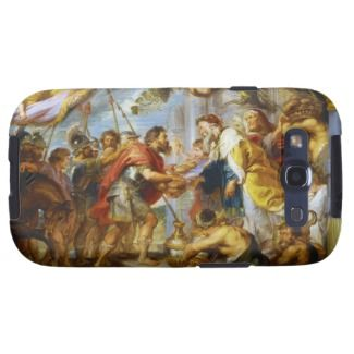 The Meeting of Abraham and Melchizedek Rubens art Samsung Galaxy SIII Case #rubens #bible #christianity #gifts #shopping #merchandising #painting #art #personalized #customizable #zazzle
