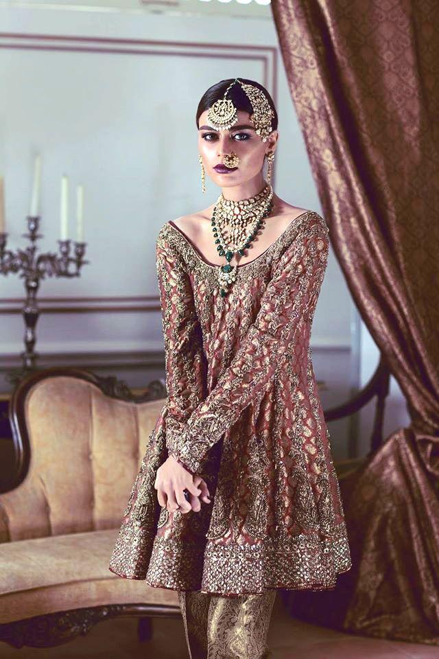 406799a042 Maheen Karim's Jashann Bridal Collection featuring Sadaf Kanwal ...