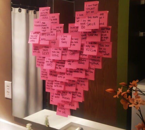 Lad Notes On The Mirror Diy Hjemmelavet kæreste gaver-2268