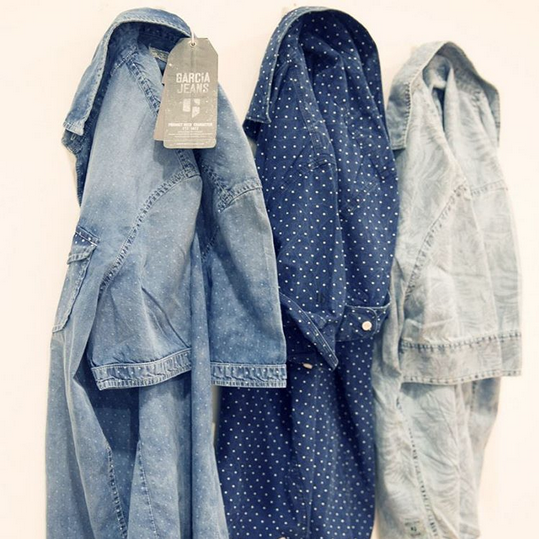 DENIM - Denim shirts Garcia Jeans Clearance Footlocker Finishline Cheap 2018 New Outlet Buy oOEDoaXUp