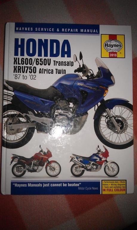 Serwisowka Manual Haynes Honda Transalp Africa 2523800057 Oficjalne Archiwum Allegro Motos