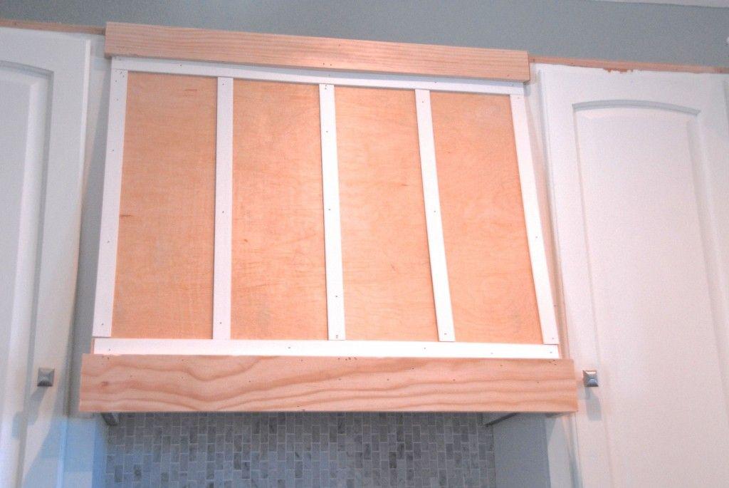 Remodelaholic How to DIY a Custom Range Hood for Under