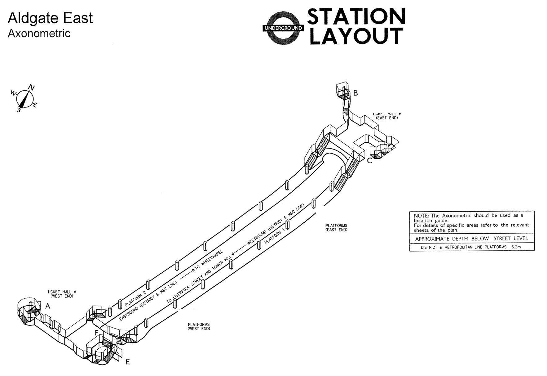 3d Maps Of Every Underground Station