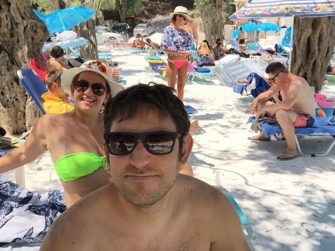 Marble beach-Thassos