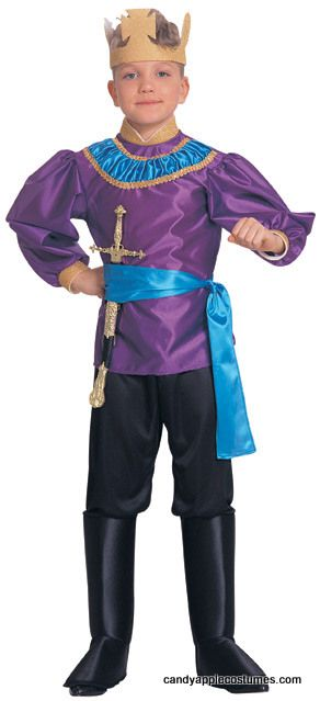 Childu0027s King Costume - Candy Apple Costumes - Kidsu0027 Deluxe Costumes...Great for school plays or projects this childu0027s storybook king or prince costume ...  sc 1 st  Pinterest & Childu0027s King Costume - Candy Apple Costumes - Kidsu0027 Deluxe Costumes ...