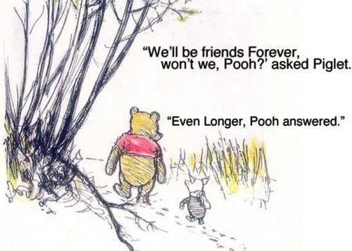 Quotes About Friendship Winnie The Pooh Enchanting Winnie The Pooh Quotes On Pinterest  Piglet Quotes Piglets And