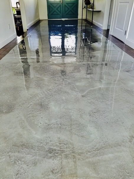 Winter Park Village Metallic Epoxy Flooring In 2019