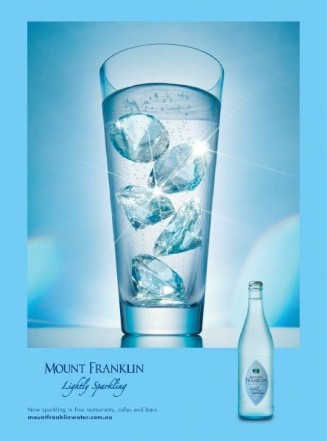 Sparkling Water Ad