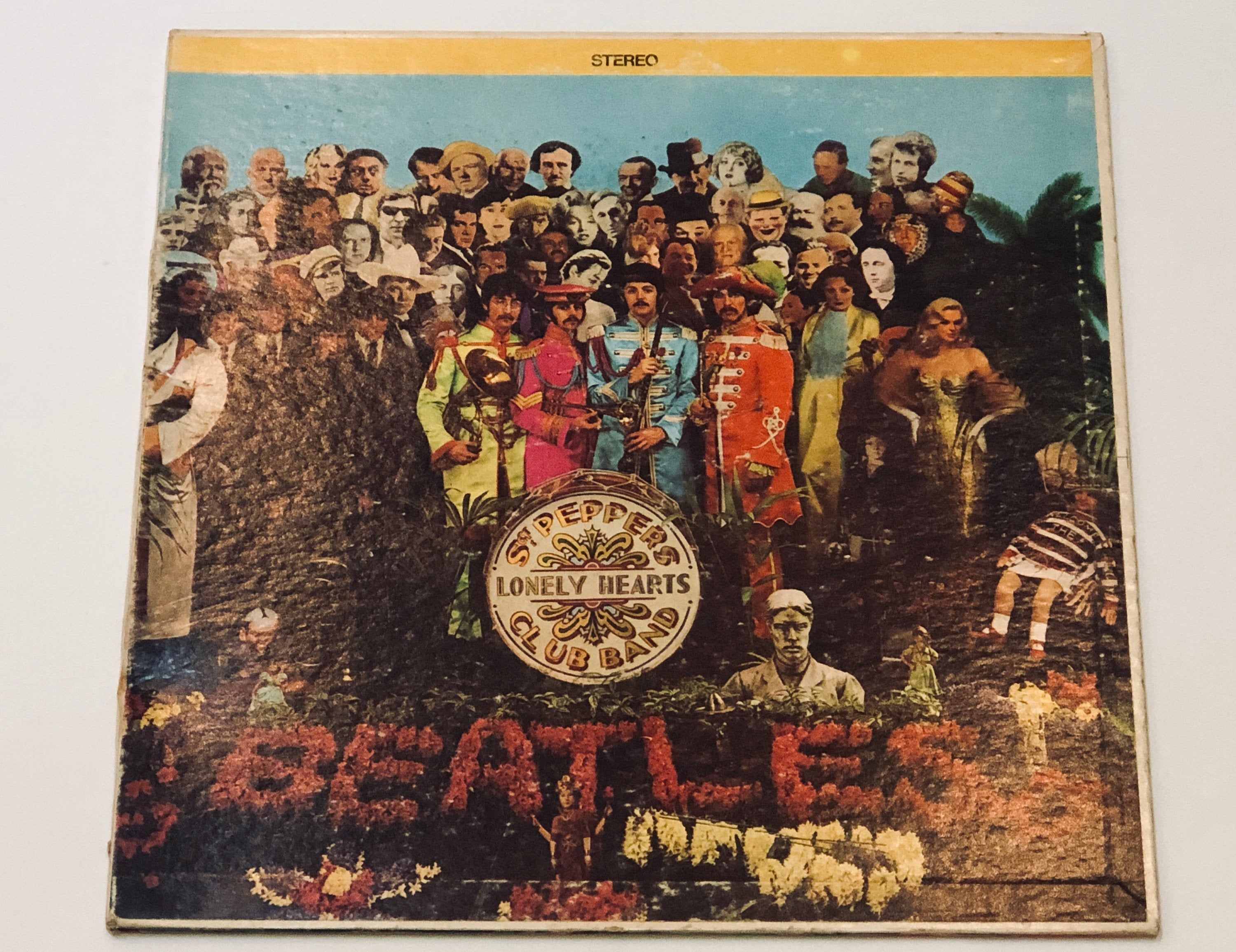 The Beatles Sgt Peppers Lonely Hearts Club Band W Poster Etsy Sgt Peppers Lonely Hearts Club Band Beatles Sgt Pepper Lonely Heart