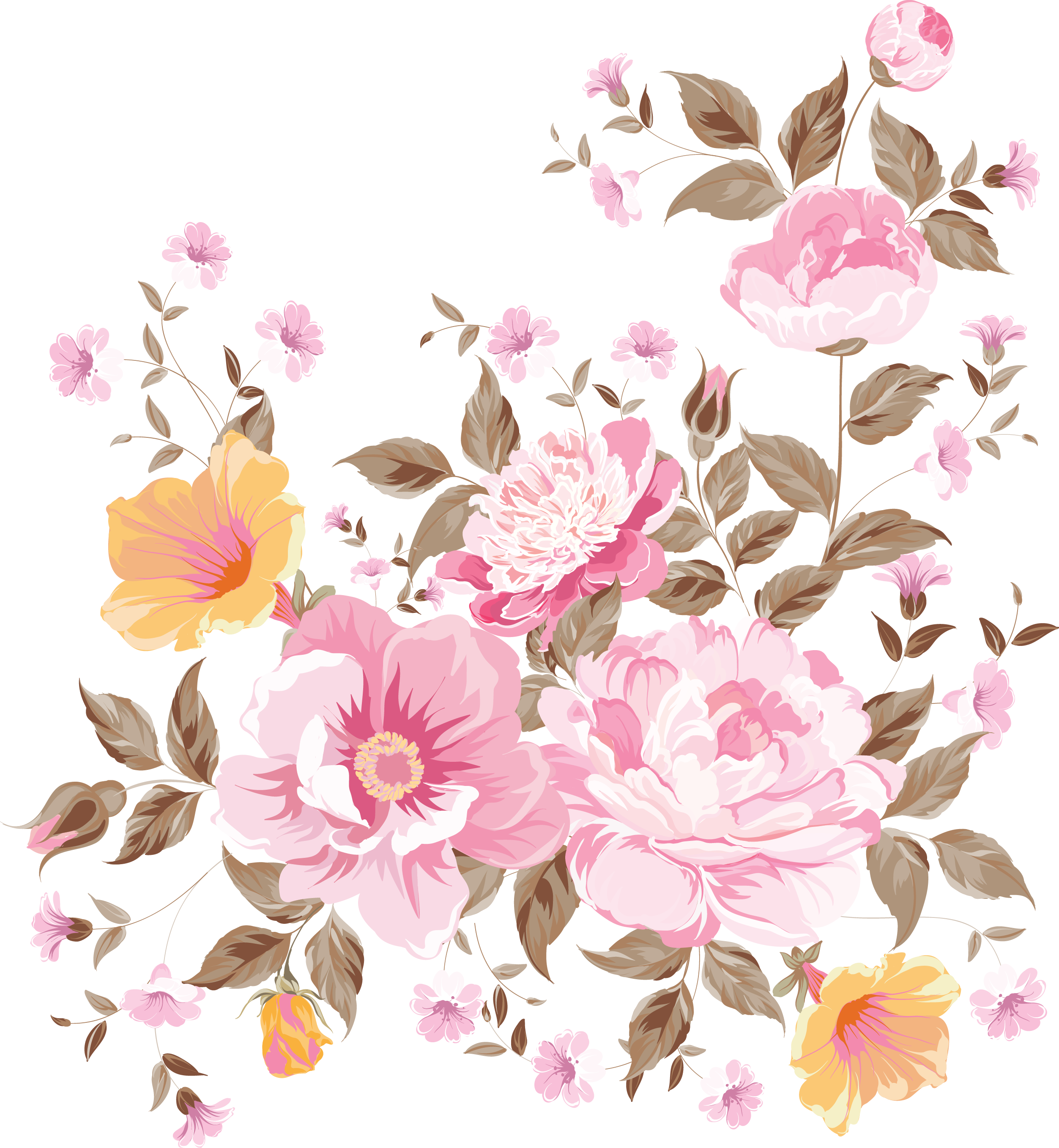 My design beautiful flowers my decoupage design pinterest my design beautiful flowers art clipart bunch of flowers flower art digital izmirmasajfo