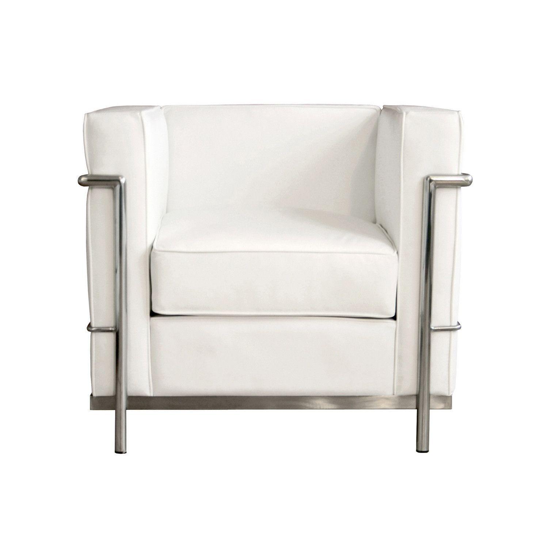 Baxton Studio White Le Corbusier Petite Chair | Products