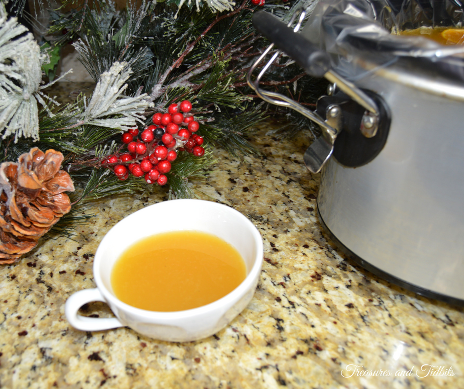 Christmas Wassail With Rum