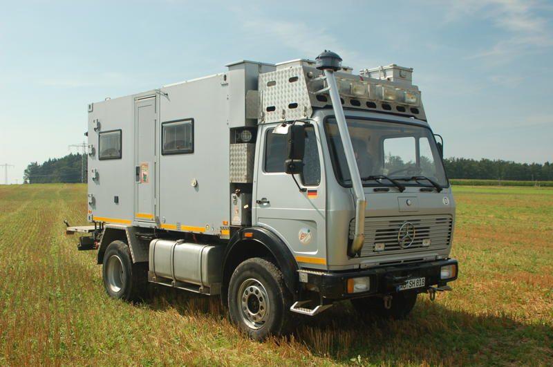 Mercedes benz 1017a expedition vehicle overlander off for Mercedes benz 4x4 truck