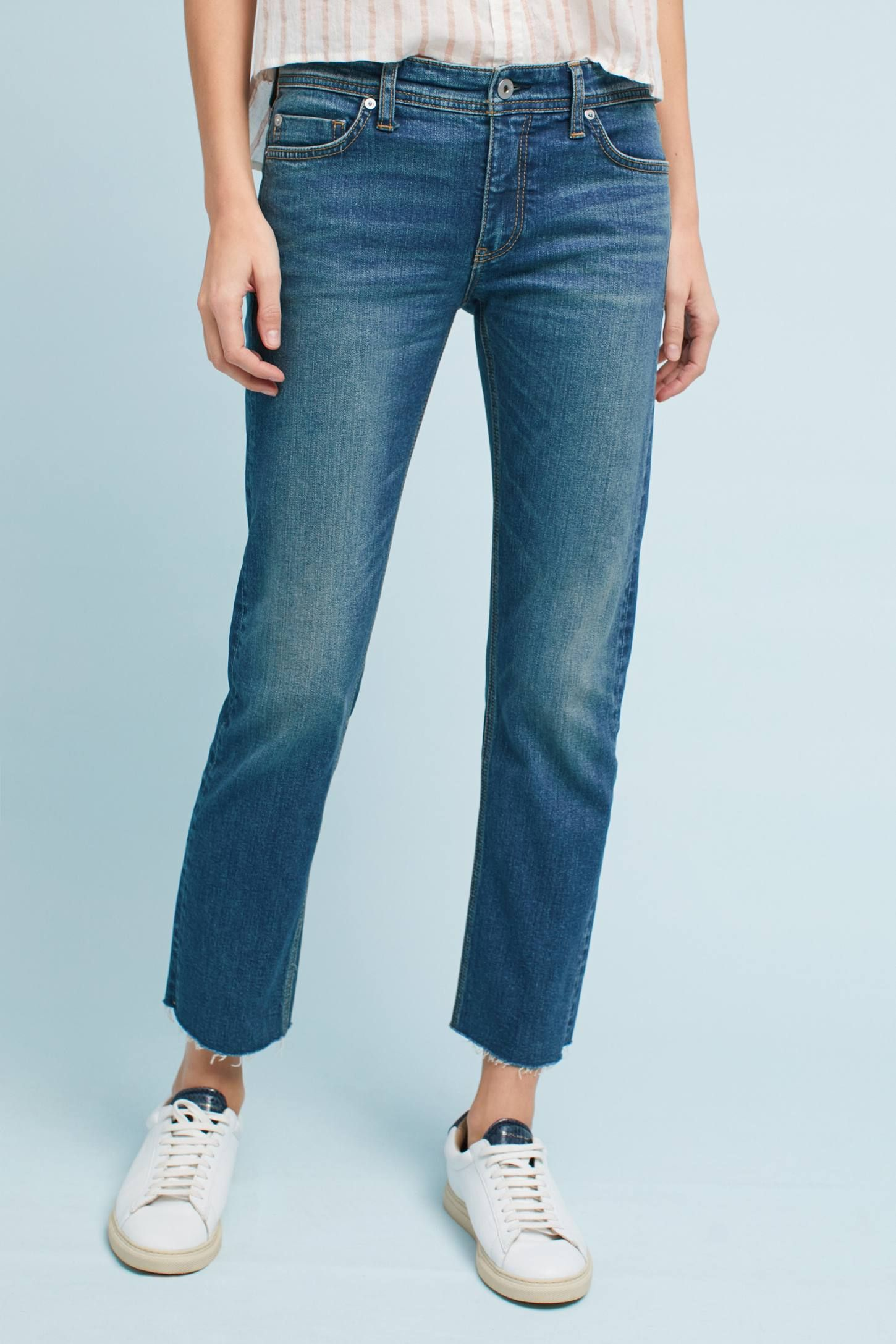 The Pilcro Mid Rise Slim Straight Jeanore Anthropologie At Today Read Customer Reviews Discover Product Detailore