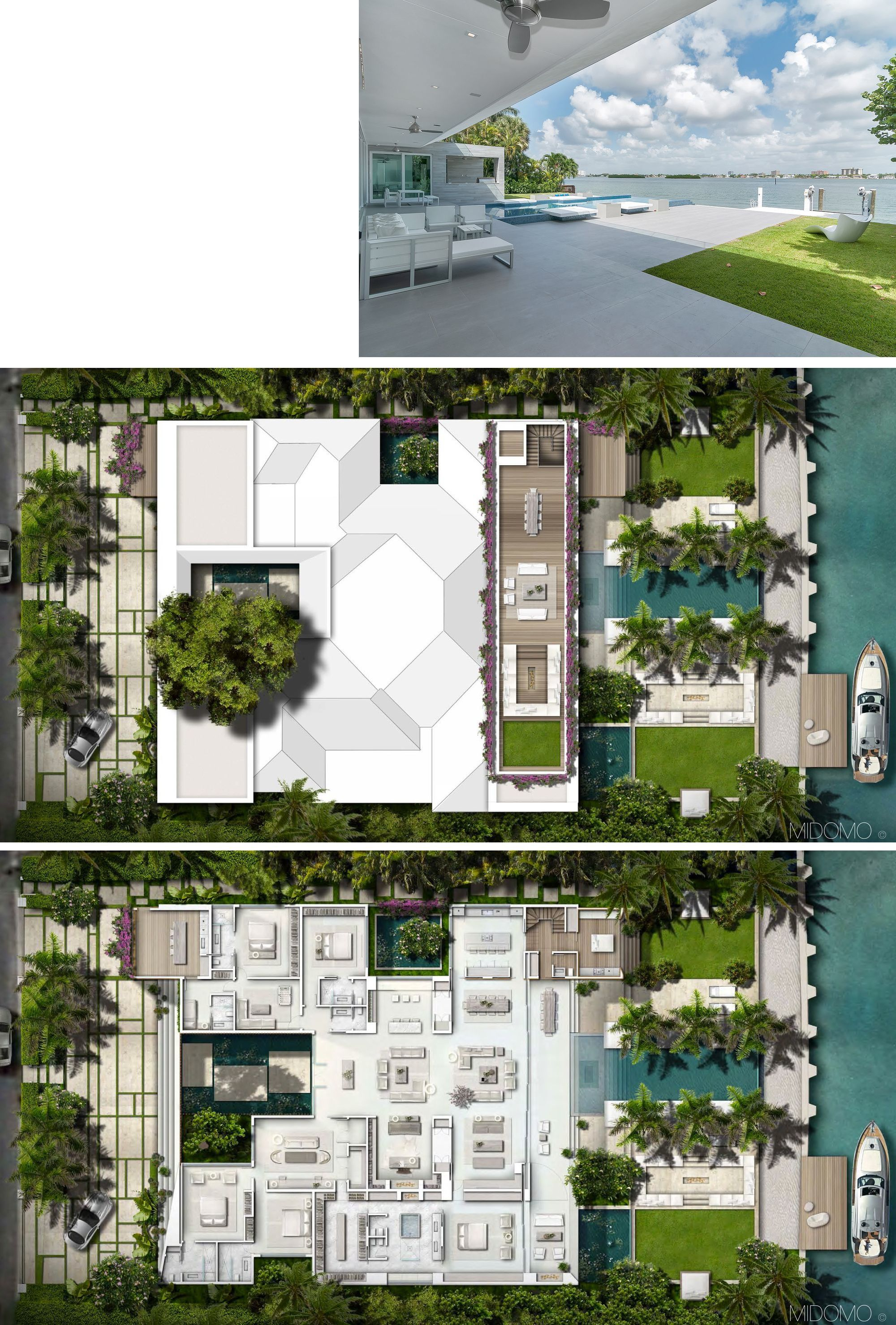 Gross Flasz Residence One D B Miami Mansion Floor Plan Mansion Plans House Blueprints