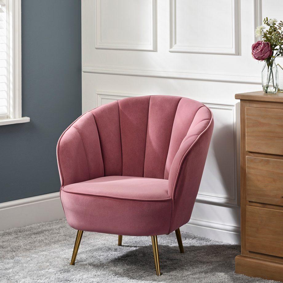 The Range chair delighting shoppers   Navy, velvet and ...