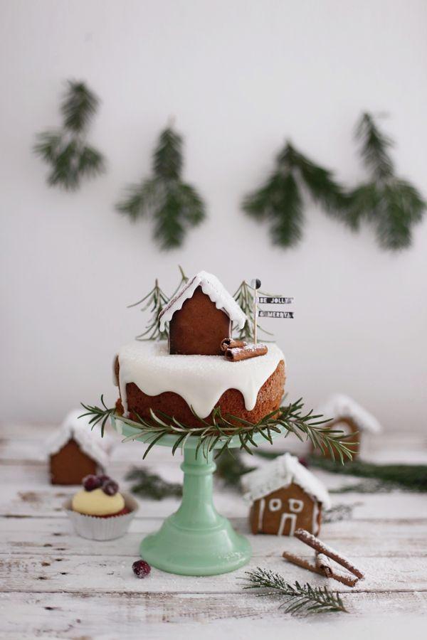 Die sistermag weihnachtsb ckerei weihnachten dekoration - Winterlandschaft dekoration ...